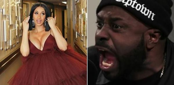 Funk Flex Goes In On Cardi B for Being A Fraud