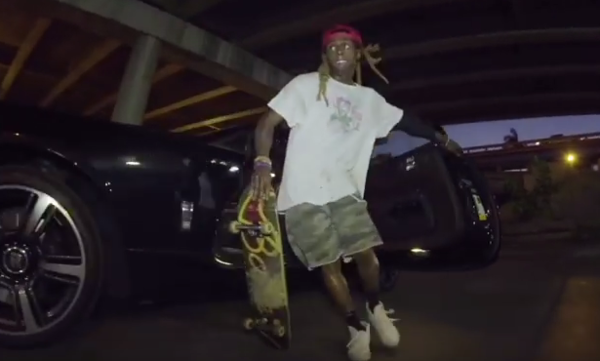 "Lil Wayne Premiers Brand New Song ""Hercules"" In Skate Video"
