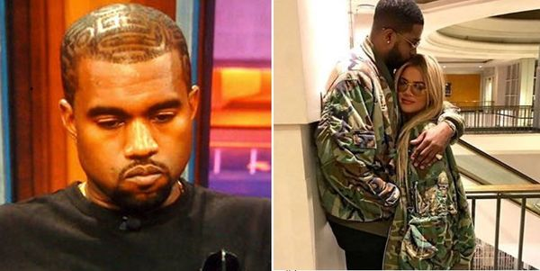 Report: Kanye Threatens To Fight Tristan Thompson For Cheating on Khloe Kardashian