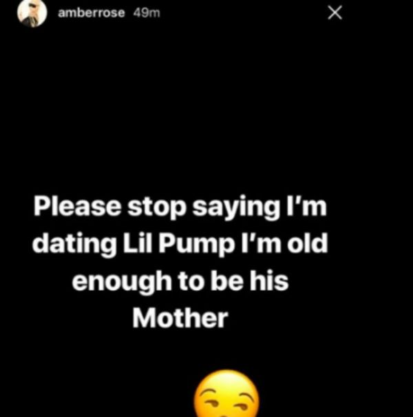 Amber Rose Addresses Rumors Of Dating Lil Pump