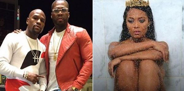 50 Cent And Floyd Mayweather Are Fighting Over Revenge Porn