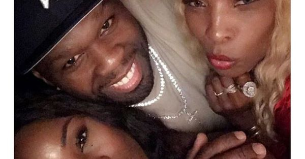 50 Cent Parties With Rick Ross's Baby Mama