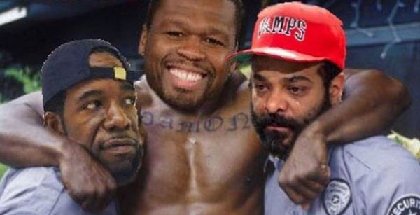 50 Cent Responds After Both Jim Jones & Hell Rell Suggest They are Ready To Fight