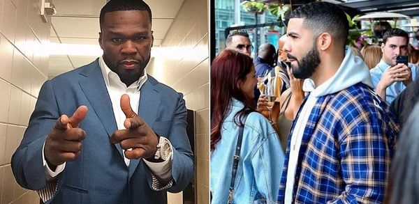 50 Cent Reveals The Cover He'd Use For a Drake Diss