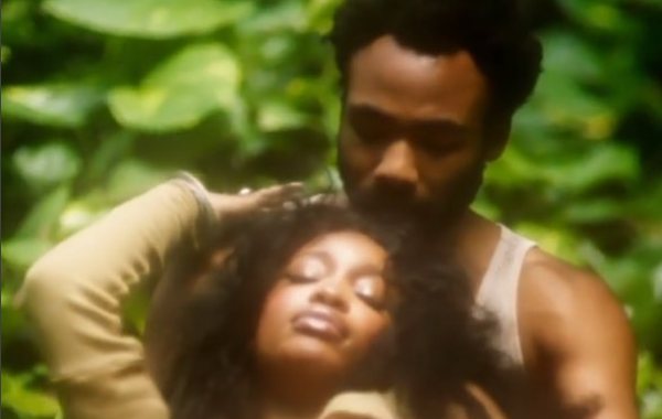 Childish Gambino Gets Real Cozy With SZA For Her New Video