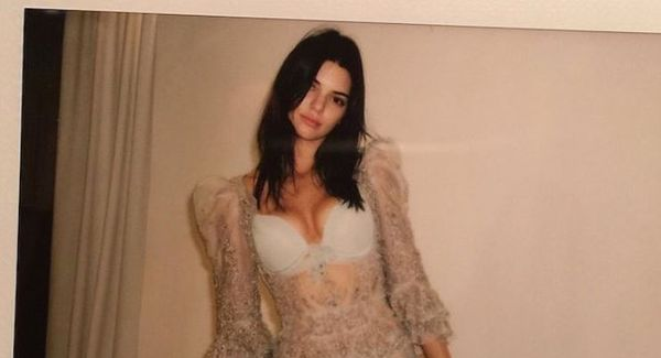 Kendall Jenner Lets The Nipples Out in Cannes