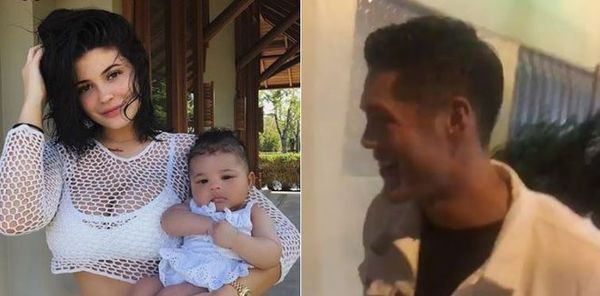 Kylie Jenner's Bodyguard Asked About Being Stormi's Real Dad