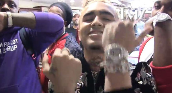 Lil Pump Bought Watches For His Crew
