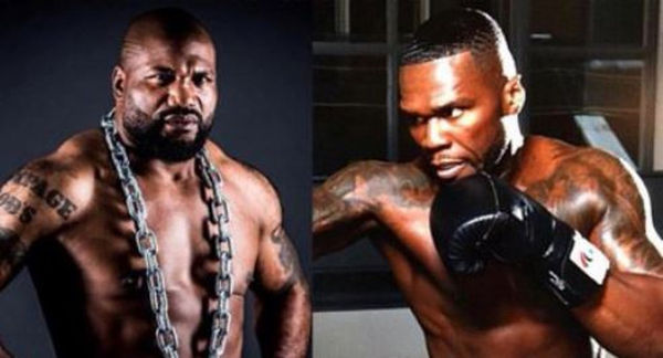 50 Cent Challenges Rampage Jackson After Meeting MMA Exec