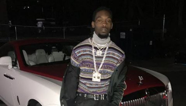 Offset Shares A Photo Of Himself As A Backup Dancer For Whitney Houston
