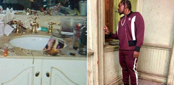 Pusha T's Cover For 'DAYTONA' Is Whitney Houston's Cracked Out Bathroom