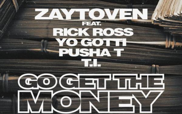 "Rick Ross, Yo Gotti, Pusha T & T.I. ""Go Get The Money"" For Zaytoven"