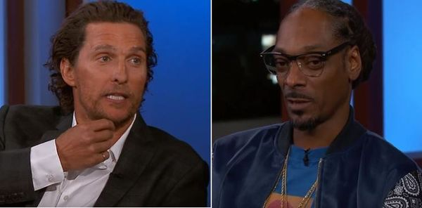 Snoop Dogg Tricked Matthew McConaughey Into Getting Stupid High During Movie Shoot