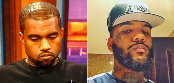 The Game Says Kanye Should Be Worried about Threat From Crips