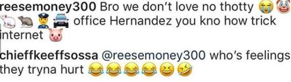 Chief Keef Responds To Teka$hi 69 Taking His Baby Mama Shopping