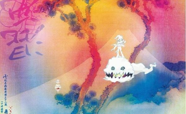 "Kanye West Teams Up With Kid Cudi For ""Kids See Ghosts"" Album"