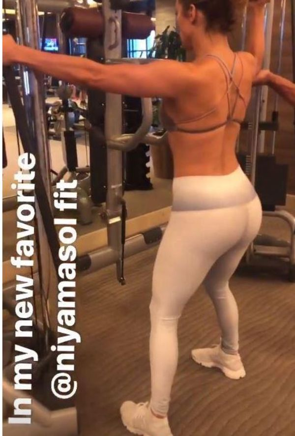 Jennifer Lopez Flaunts Famous Booty In Workout Photos