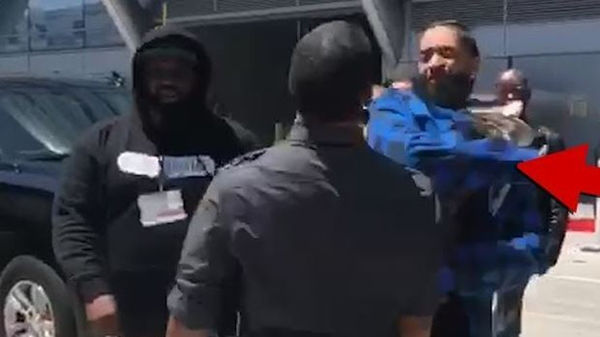 Nipsey Hussle Smacks Guy in The Face Over Parking At BET Awards