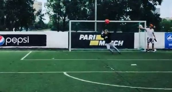 Teka$hi 69 Flexes His Goalie Skills In Plea To Be Added To Mexico's World Cup Team