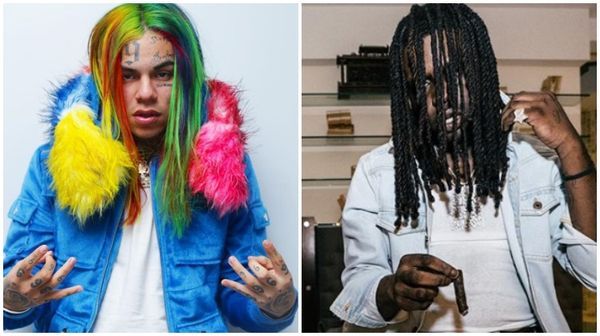 Tekashi 6ix9ine Clowns Chief Keef Fans For Thinking Sosa's A Real Gangsta