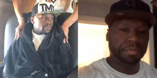 50 Cent Mocks Floyd Mayweather For Coming Out Of Retirement