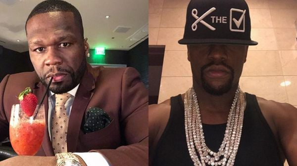 50 Cent Takes Shots At Floyd Mayweather Over Car Purchases