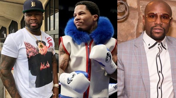 50 Cent Says Floyd Mayweather is Doing His Fighter Gervonta Davis Dirty