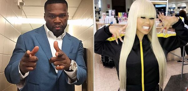 50 Cent Warns Blac Chyna's New Teenage Boyfriend