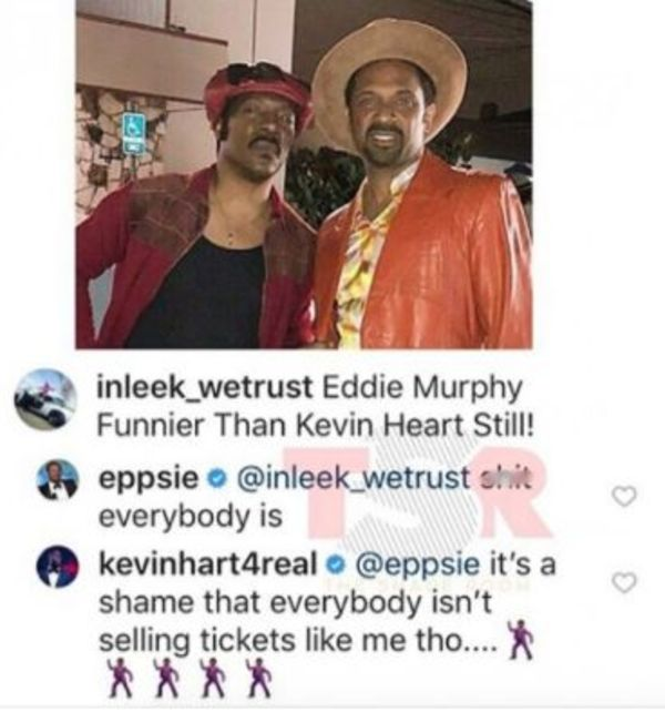 Kevin Hart And Mike Epps Beef On Instagram