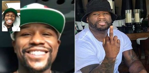 Floyd Mayweather Comes At 50 Cent By FaceTiming With 50's Son