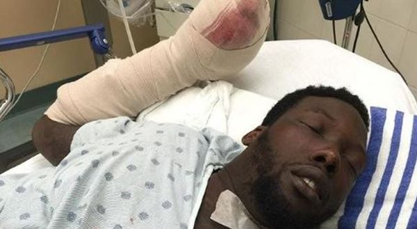 Jason Pierre-Paul Posts Horrific Photo Of His Mangled Hand After Fireworks Injury