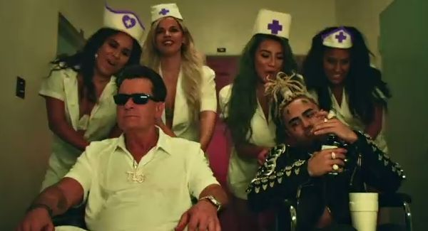 "Lil Pump Drops New Single & Video With ""Drug Addicts"" Starring Charlie Sheen"