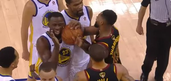 Draymond Green Reacts To Rumor That Tristan Thompson Punched His Face At Club