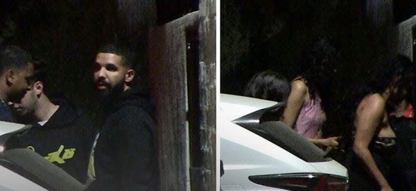Watch Drake Bring Seven Baddies With Him On L.A. Date