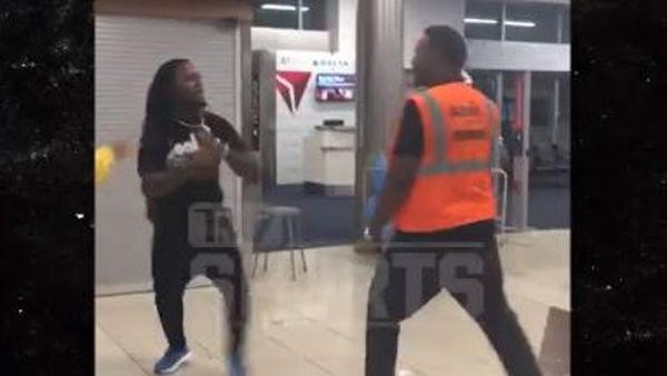 Watch Pacman Jones Fight An Atlanta Airport Employee
