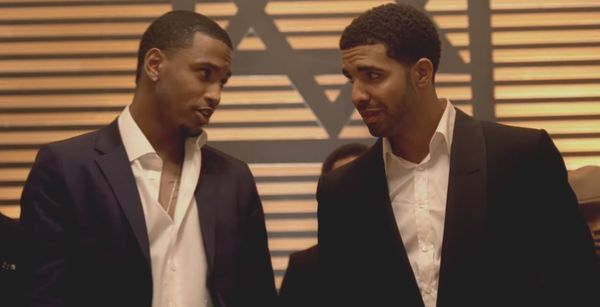Drake Mocks Trey Songz's Basketball Skills