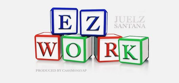 "Juelz Santana Puts In That ""EZ Work"""