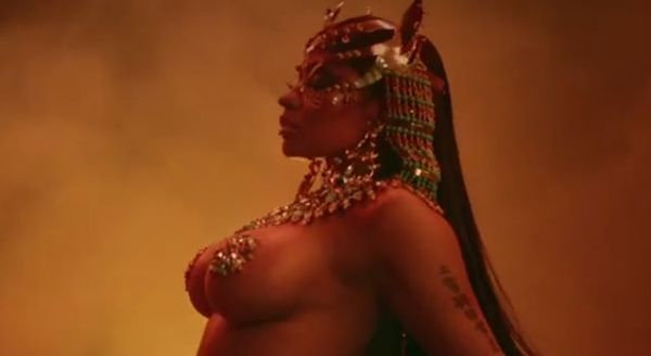 "Nicki Minaj Drops ""QUEEN"" Intro ""Ganja Burns"" Official Video"
