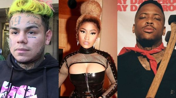Nicki Minaj Jumps into Tekashi 6ix9ine and YG Beef