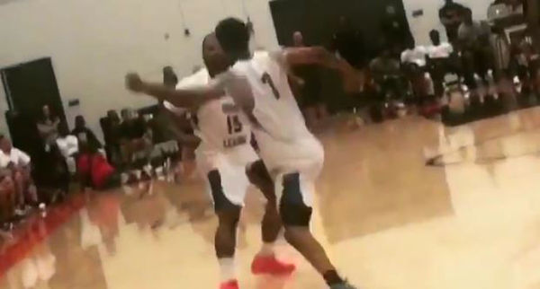 The Game Managed To Fight His Own Teammate During Drew League Game