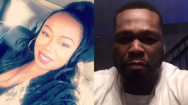 50 Cent's Baby Moma Claps Back After Rapper Threatens To Cancel Her Show