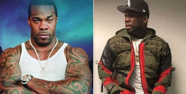 50 Cent Clowns Busta Rhymes With Nude Photo