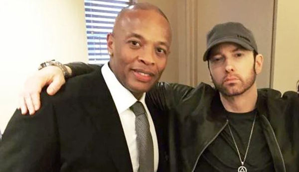 Report: Eminem Will Be On Dr. Dre's New Album