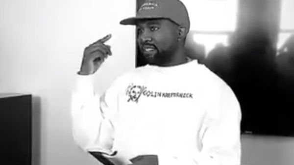 Kanye West Wears MAGA Hat and Reps Colin Kaepernick in New video