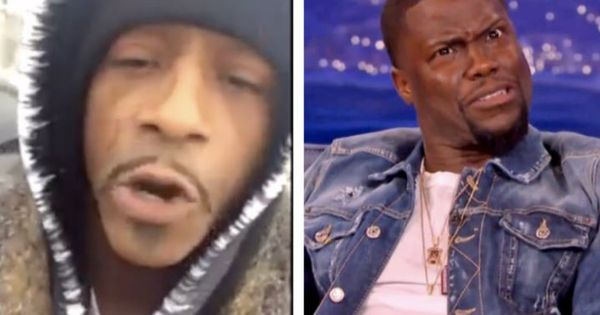 Katt Williams Says He's Going to Beat Down Kevin Hart Over Comments