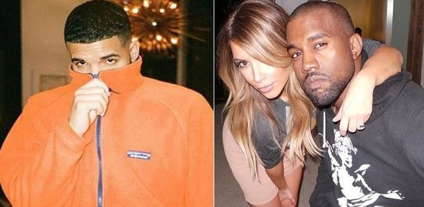 Kanye Rips Drake For Suggesting He Banged Kim Kardashian