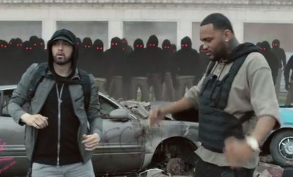 "Lucky For Us, Eminem & Joyner Lucas Drop ""Lucky You"" Video"