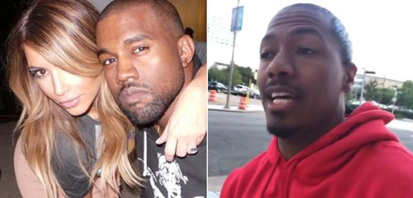 Nick Cannon Tells Kanye He'll Say Whatever He Wants About Kim Kardashian