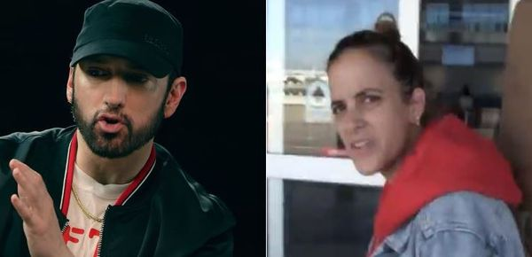 Samantha Ronson Goes In On Eminem For Putting Rihanna In His MGK Diss