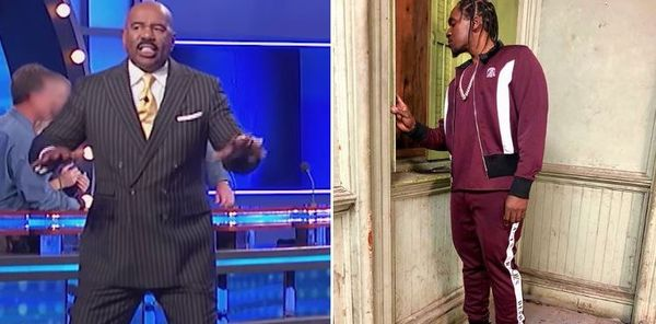 Steve Harvey Finally Fires Back At Pusha T